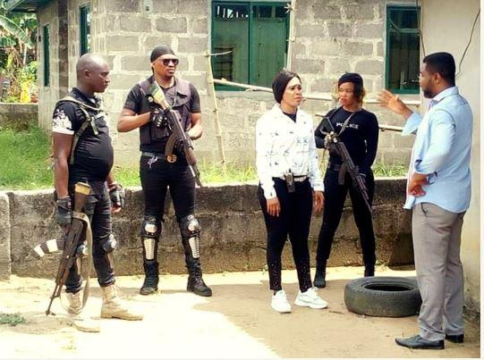 Pete Edochie's Look-alike Joins Nollywood
