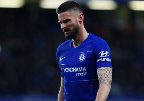 I'm Very Frustrated - Giroud Laments