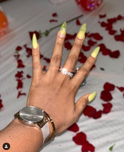 BREAKING!!! BBNaija Ex-Housemates, Teddy A & Bam Bam Engaged 2