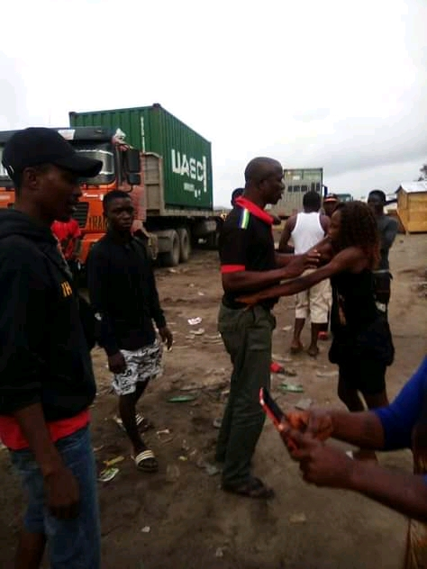 Policeman Disgraced By Prostitute For Refusing To Pay After 'Service' (Photos)