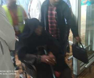 Shiite Leader, El-Zakzaky Arrives India