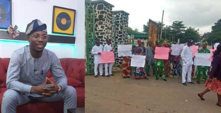 Senior Citizens Protest Against Appointment Of 27-year-old As Commissioner