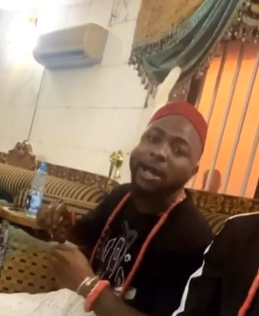 Davido bags chieftaincy title