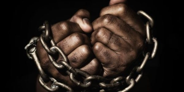 Person chained