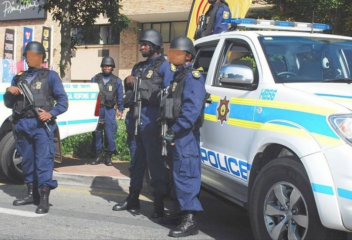 South African police jailed