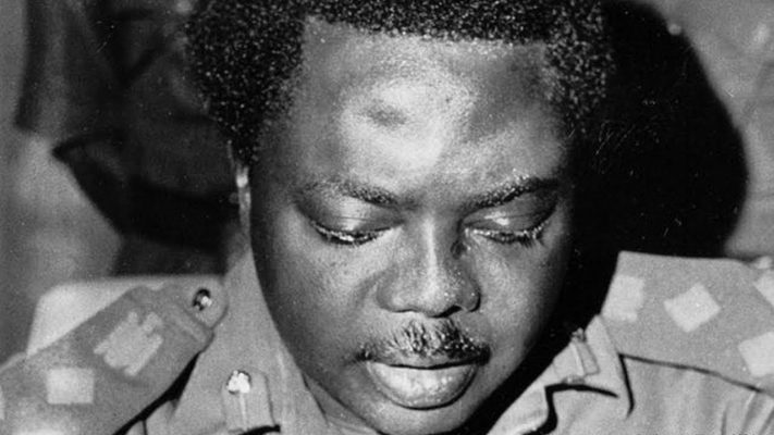 Former Nigerian Head of State, General Murtala Muhammed