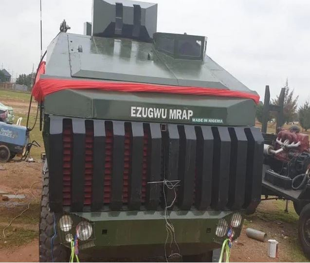 Made-In-Nigeria Armored Vehicles