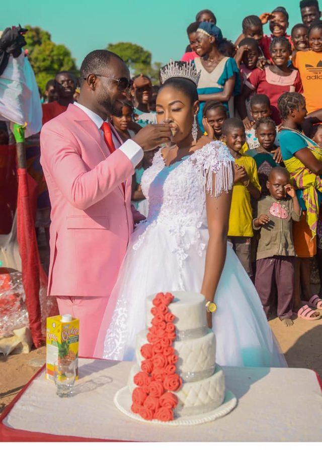 Wedding held inside IDP camp