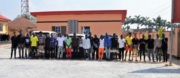 Internet fraudsters arrested by the EFCC