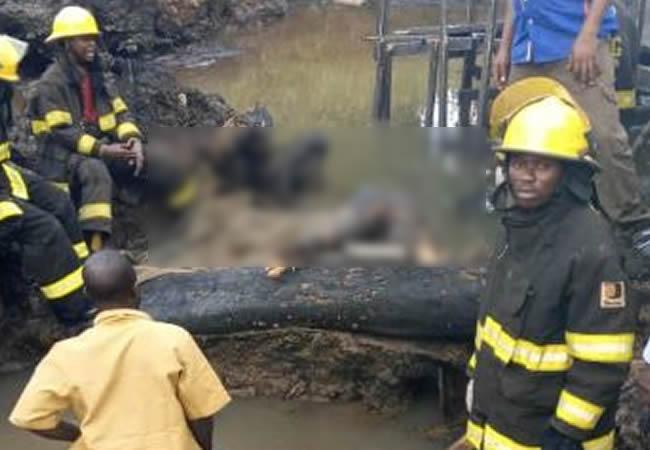 emergency workers in Lagos