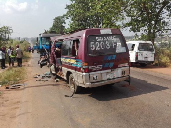 Anambra multiple crashes