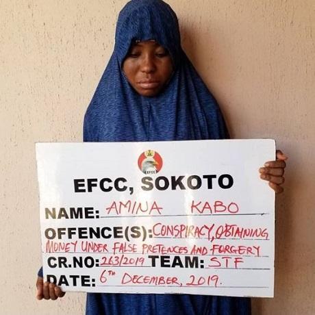 Suspect, Amina Kabo