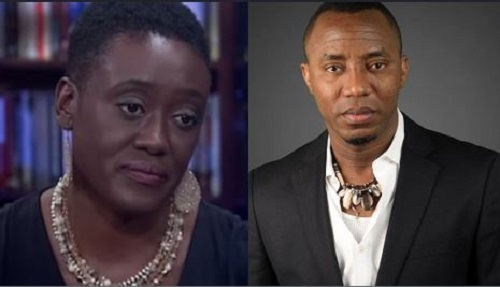 Omoyele Sowore and wife