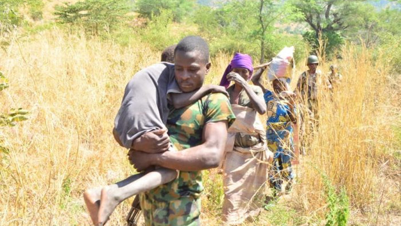 Troops rescue Boko Haram victims