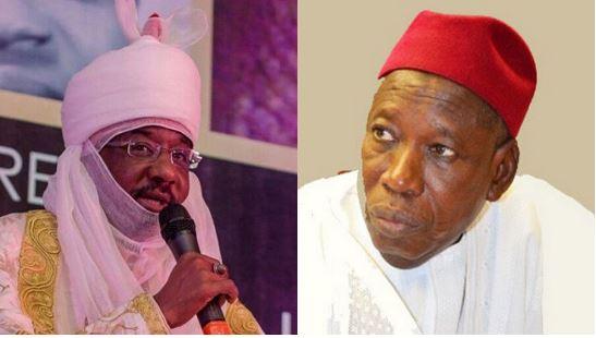 Emir of Kano, Alhaji Muhammad Sanusi II, Governor Abduallahi Ganduje