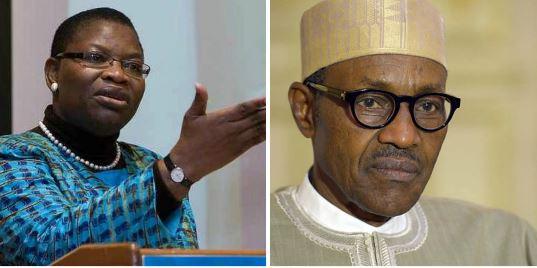 Oby Ezekwesili, President Muhammadu Buhari