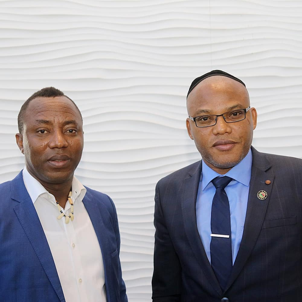 Nnamdi kanu and Sowore