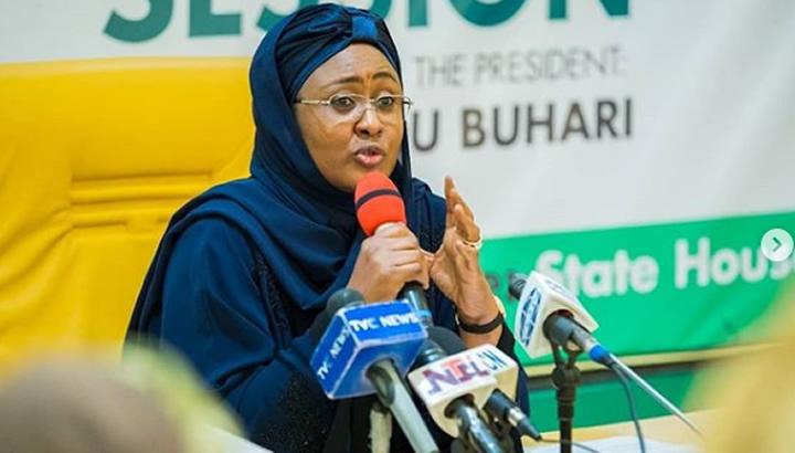 Aisha Buhari's outburst