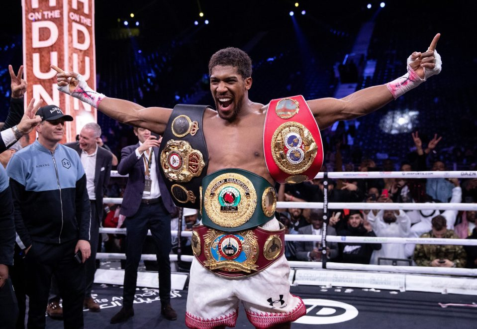 Anthony Joshua to meet Buhari