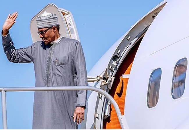 Buhari returns from Egypt