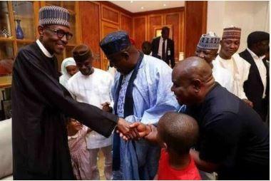 President Muhammadu Buhari, Governor Nyesom Wike