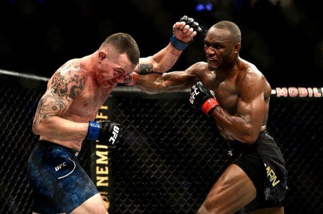 Nigerian born, welterweight champion Kamaru Usman defeats opponent to retain title