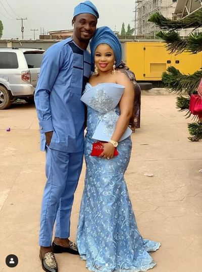 Adeniyi Johnson and Wife, Seyi Adun