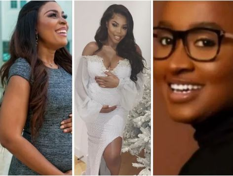 Linda Ikeji, Grace Ajilore and Gloria Osei