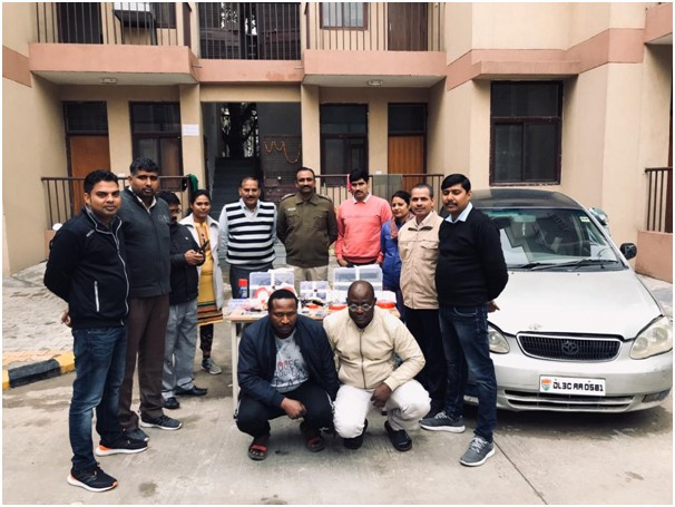 Nigerians nabbed in India