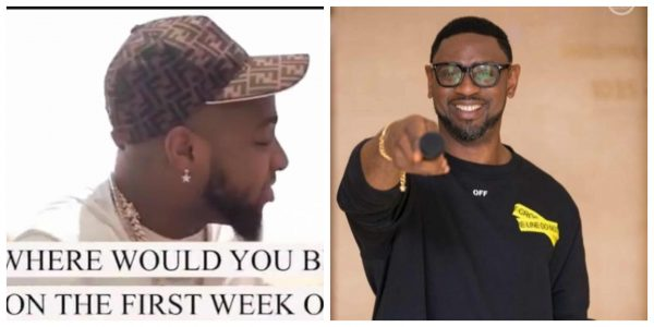 Davido features in an advert by Common Wealth Zion Assembly