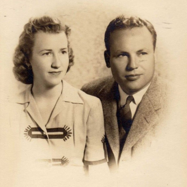 John Henderson and Charlotte Curtis