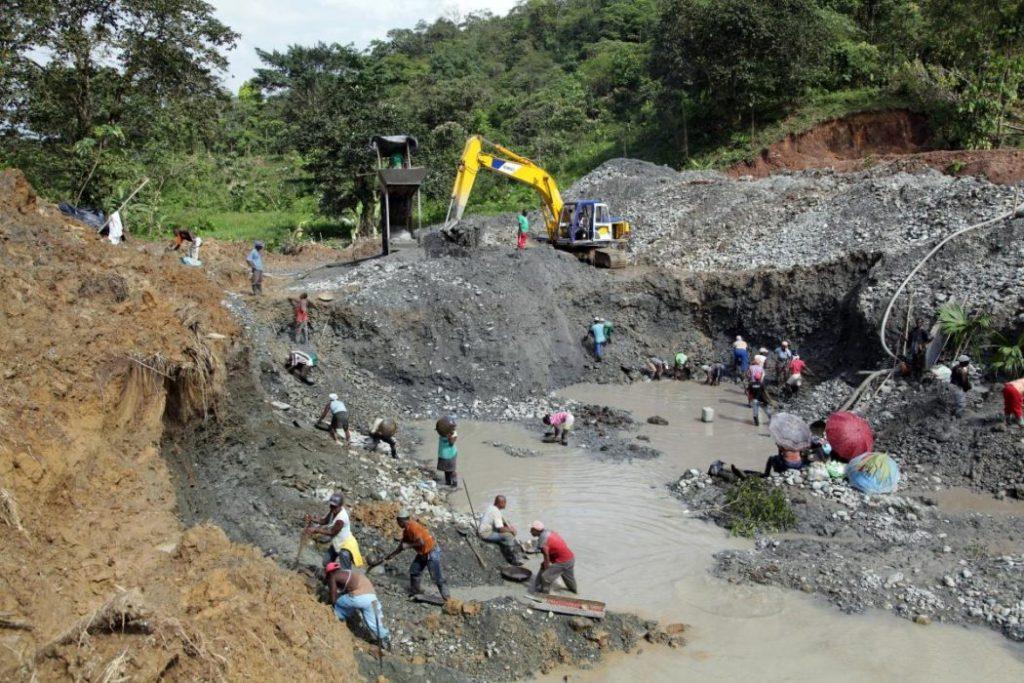 Mining pit