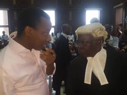 Sowore and Falana
