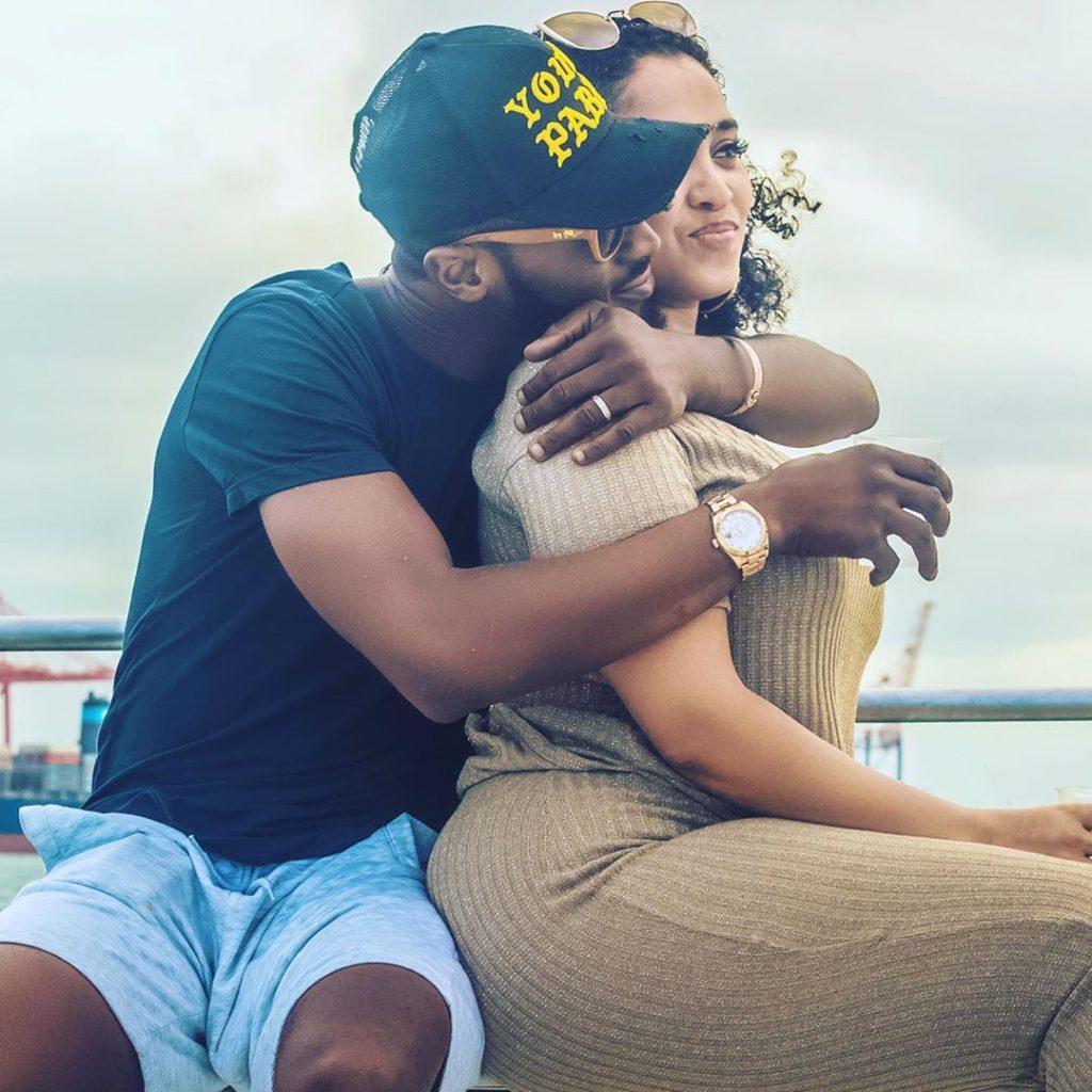 Dbanj and his wife