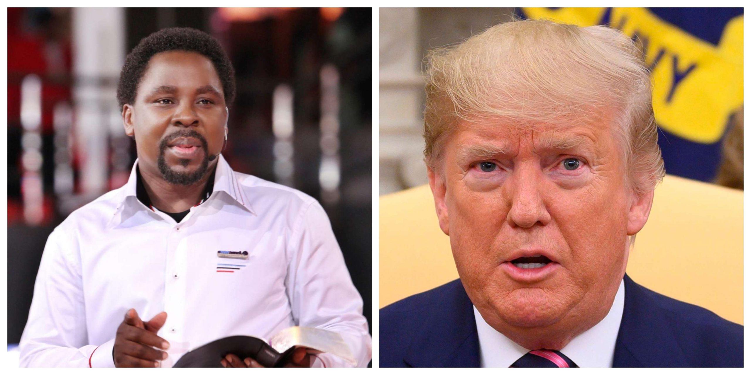 TB Joshua and Donald Trump