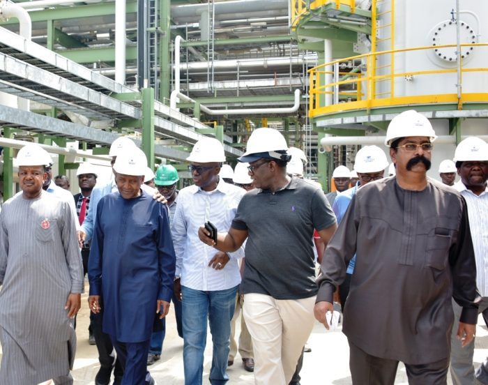 governors at Dangote factory