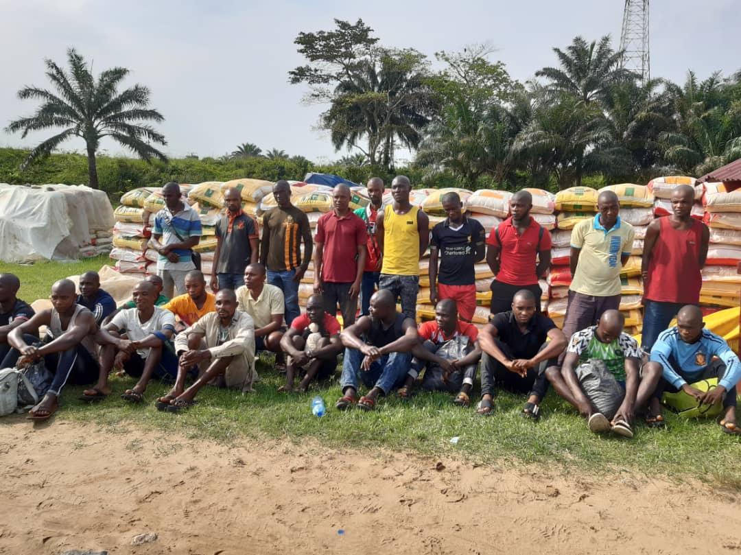 rice smugglers nabbed