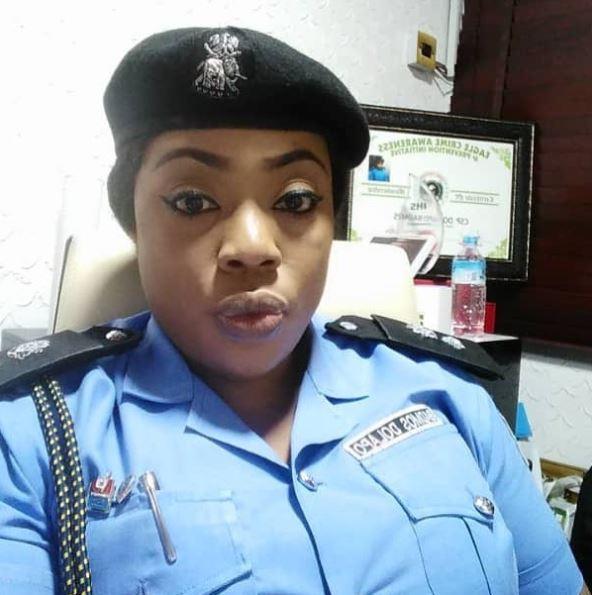 Popular Police Officer, Dolapo Badmus