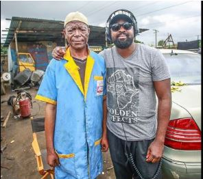 Samuel Akinpele aka Alabi Yellow and Kunle Afolayan