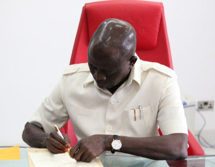 National Chairman of the All Progressives Congress (APC), Comrade Adams Oshiomhole