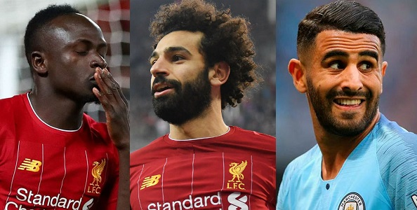 The last three African players shortlisted this year's African Footballer of the Year award