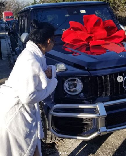 G-wagon given to Hennessy