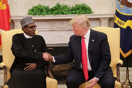 Muhammadu Buhari and Donald Trump
