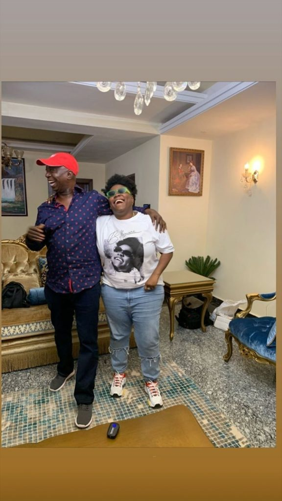 Nigerian Politician Ned Nwoko Teaches Teni How to Swim (Video)