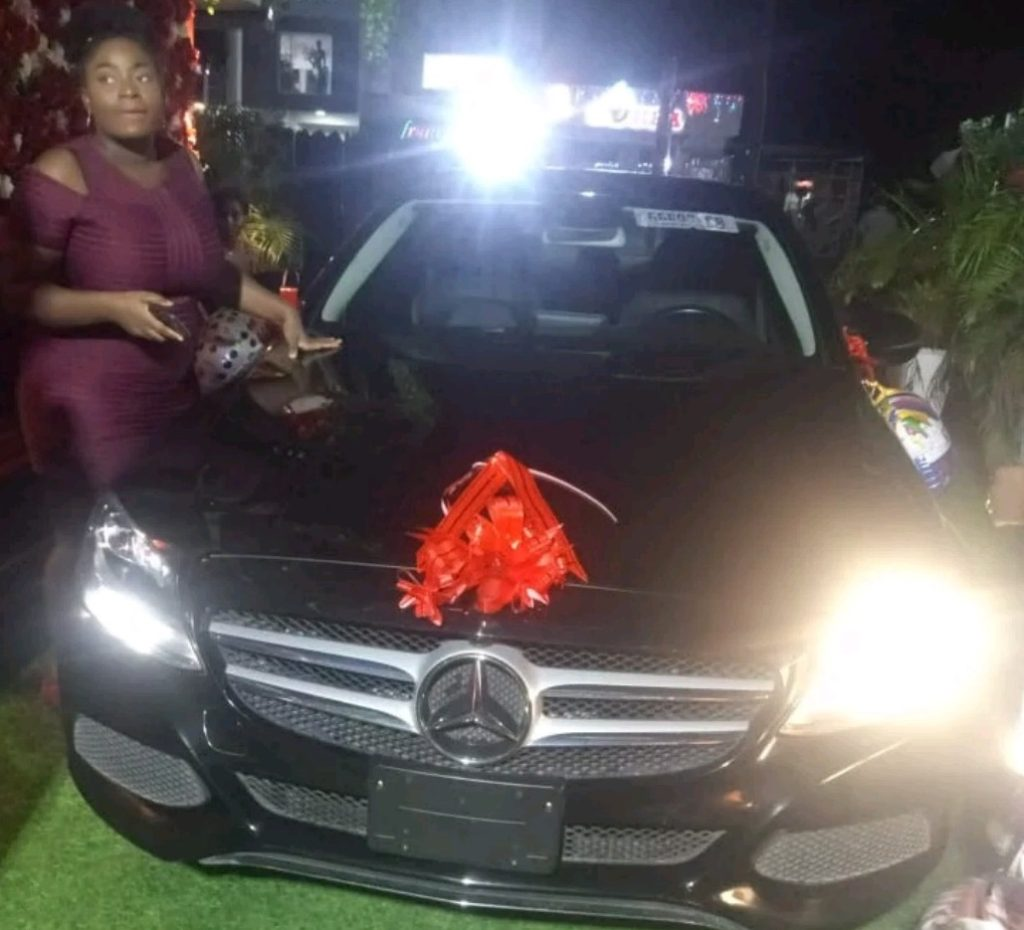 Tacha gifted Benz by her fans