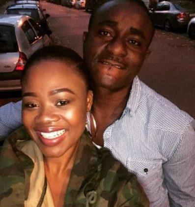 Emeka Ike and wife, Yolanda