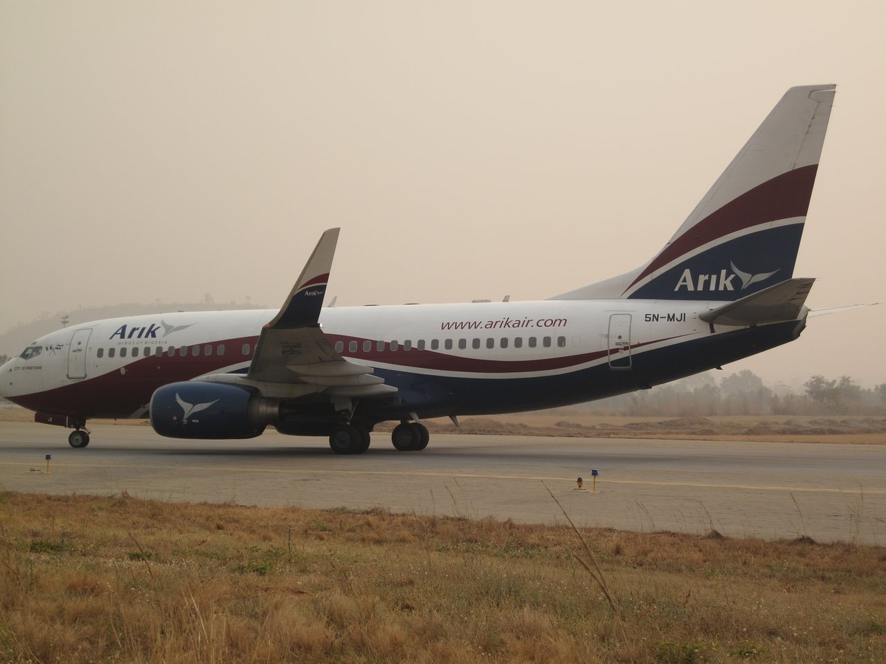 Arik air technical fault