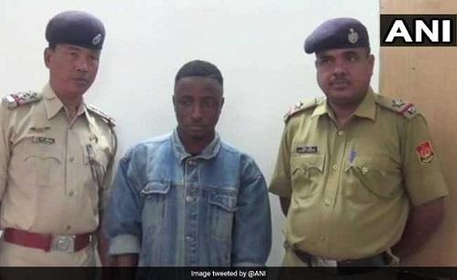 Nigerian man arrested in India