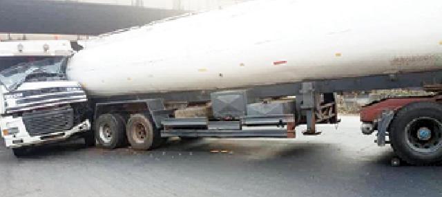 fuel tankers collide