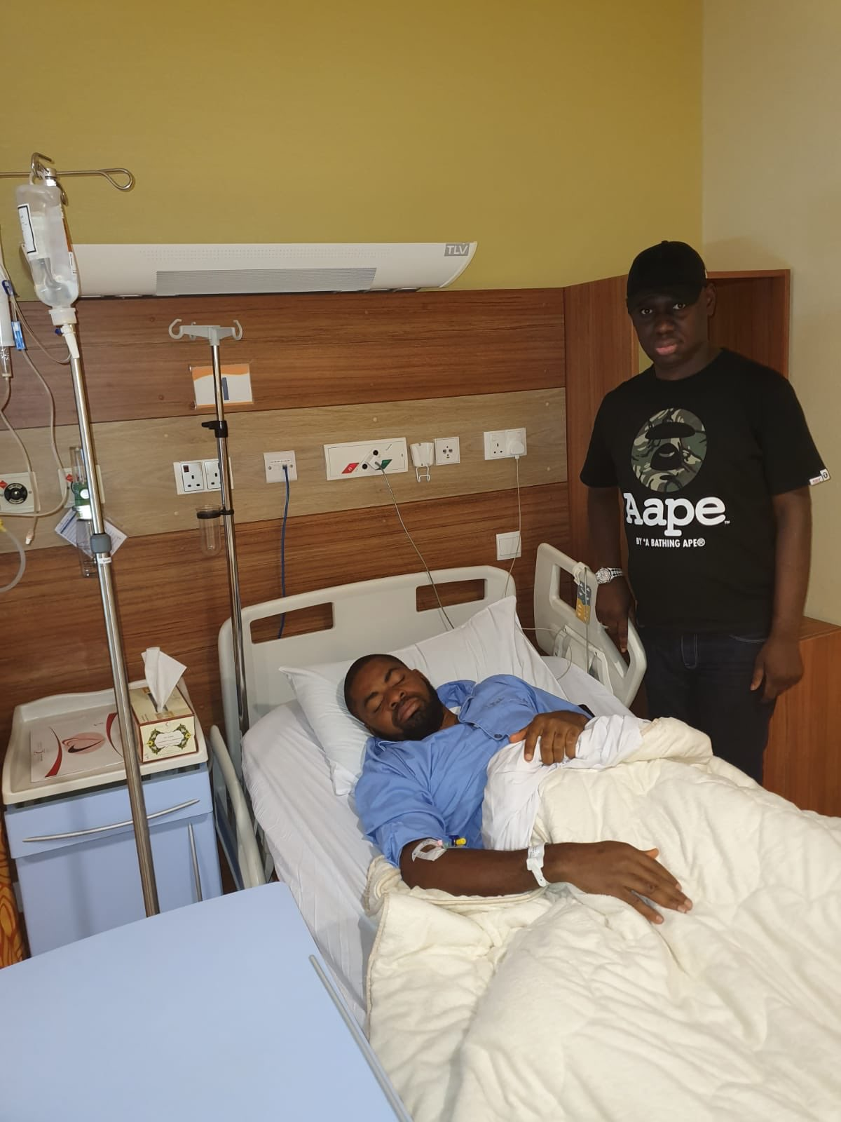 Adeyanju in hospital